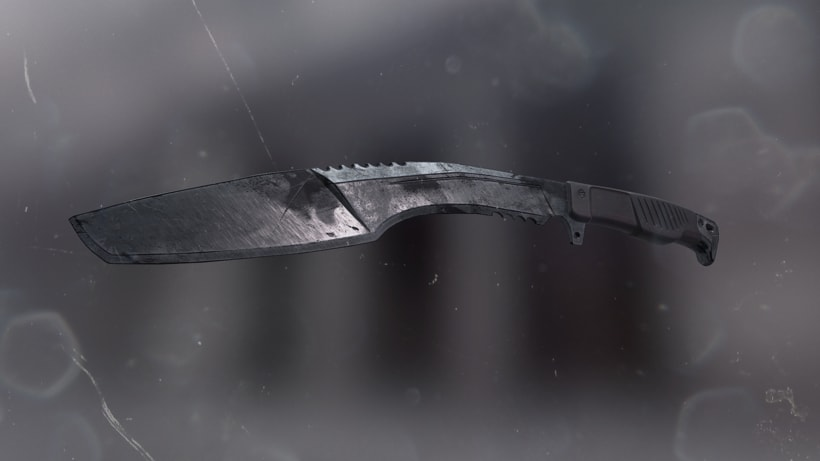 Blade - ATUODESK 3DS MAX + SUBSTANCE PAINTER + MARMOSET -1