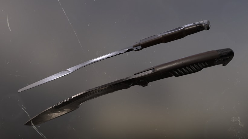 Blade - ATUODESK 3DS MAX + SUBSTANCE PAINTER + MARMOSET 1