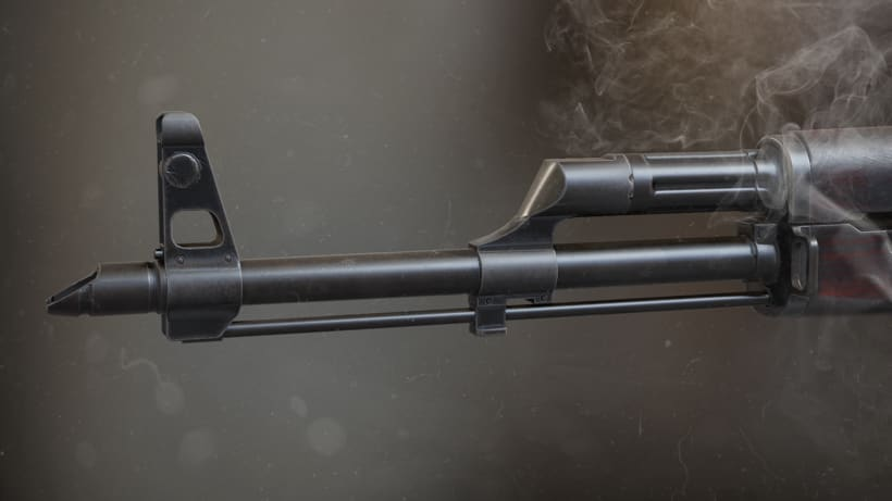 AK47 - AUTODESK 3DS MAX + SUBSTANCE PAINTER + MARMOSETNuevo proyecto 0