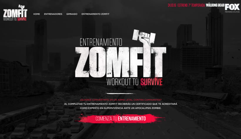 Zomfit - The Walking Dead Estreno 7ª Temporada 0