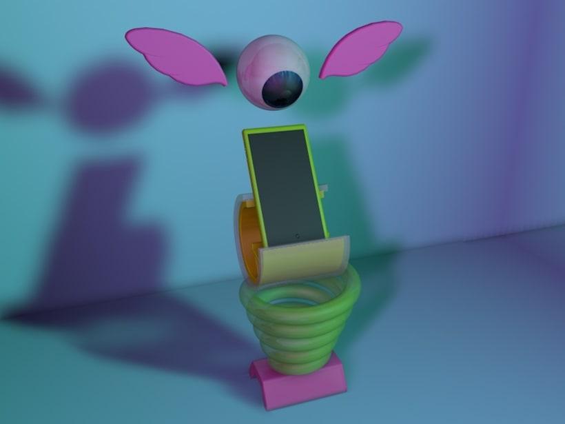 Ejercicio No.1 de Prototipado y visualizaciones de producto en Cinema 4D -1