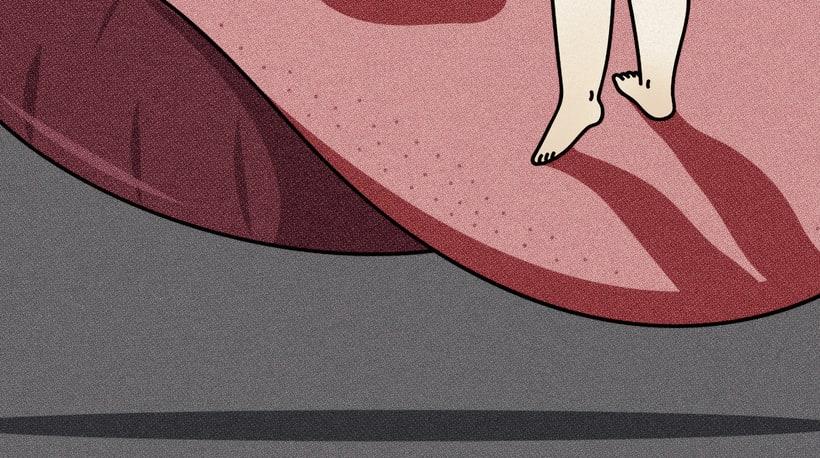 """""""Space Hole"""" ilustración extraída de la colección """"Otros Mundos"""" Hugo Giner 2017. 0"""