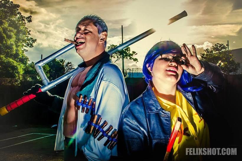 Fotografia de Cosplay y Luces 2