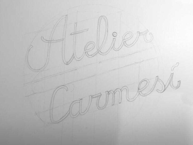 Mini branding Atelier Carmesí 2