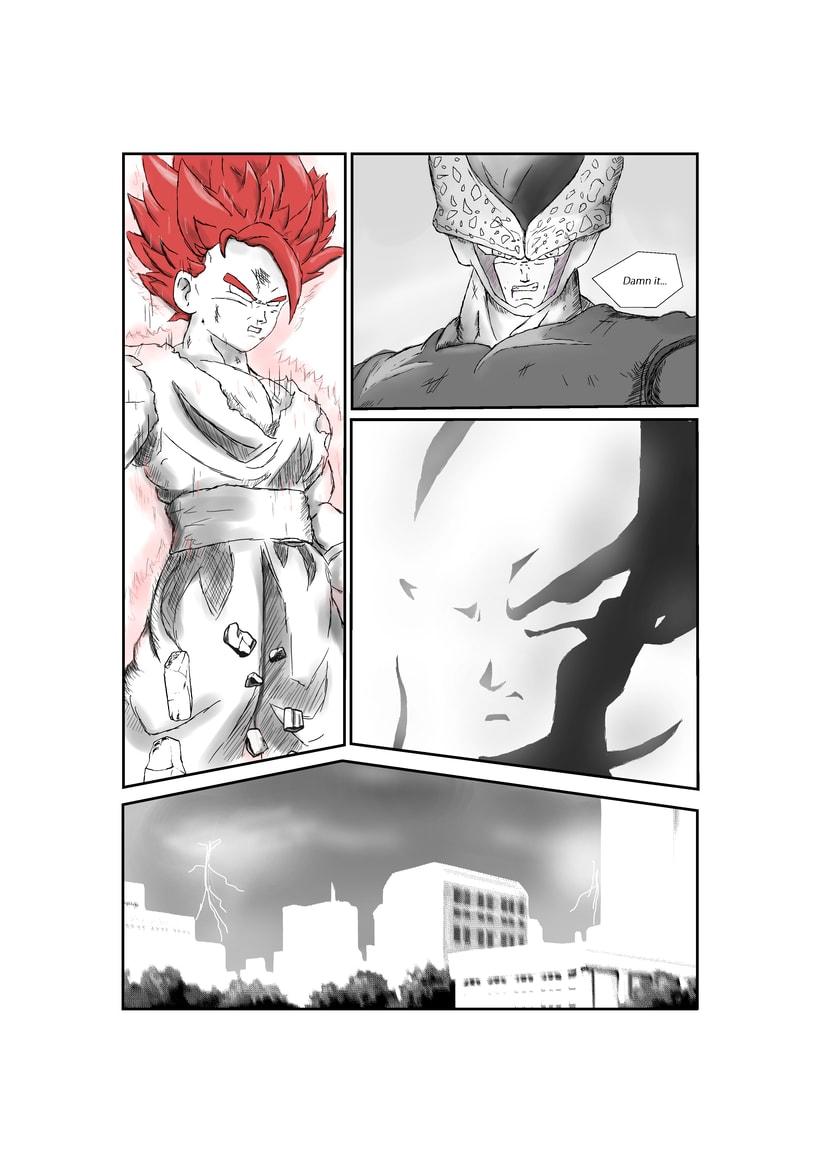 Remake Gohan vs Cell (1st part) Manga 0