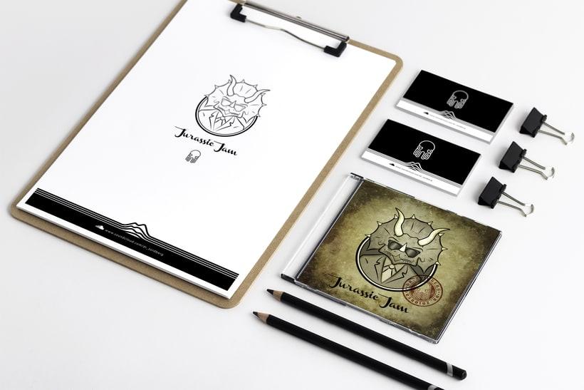 Diseño Gráfico e Ilustración (EP Jurassic Jam - Dr Zoidberg) 3