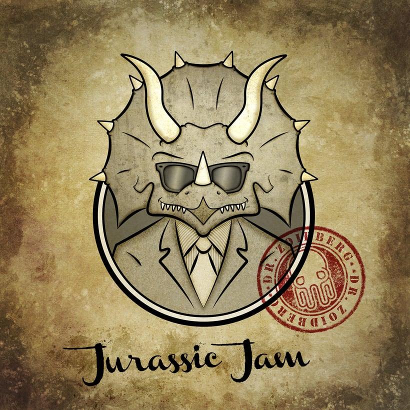 Diseño Gráfico e Ilustración (EP Jurassic Jam - Dr Zoidberg) 2