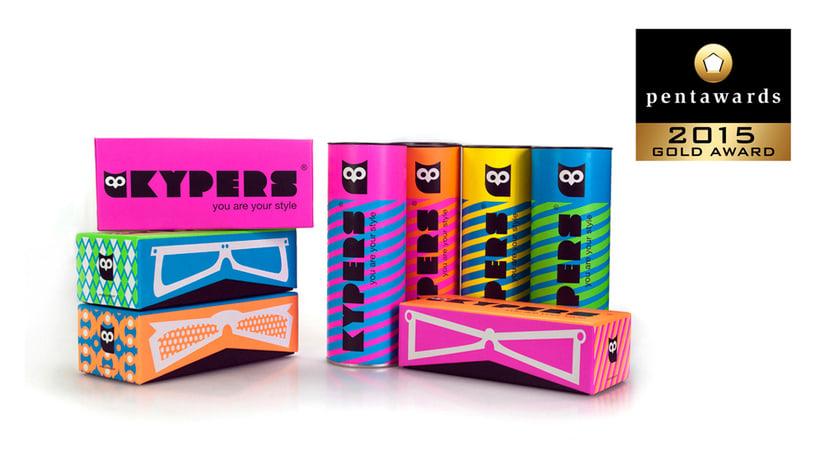 Diseño Packaging Kypers Sunglasses -1