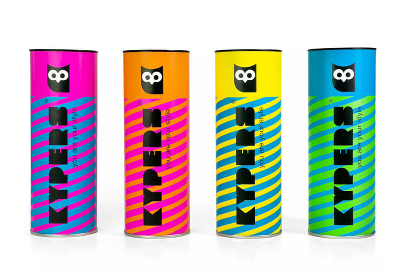 Diseño Packaging Kypers Sunglasses 0