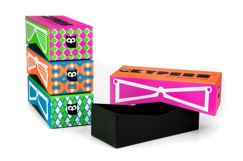 Diseño Packaging Kypers Sunglasses 1