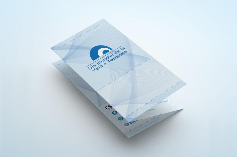 Diseño Gráfico (Día internacional de la visió a Terrassa 2012 & NETCUV) 1