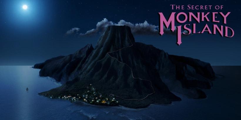 Mi Proyecto del curso: Matte Painting: creando mundos fotorrealistas (Monkey Island) 0