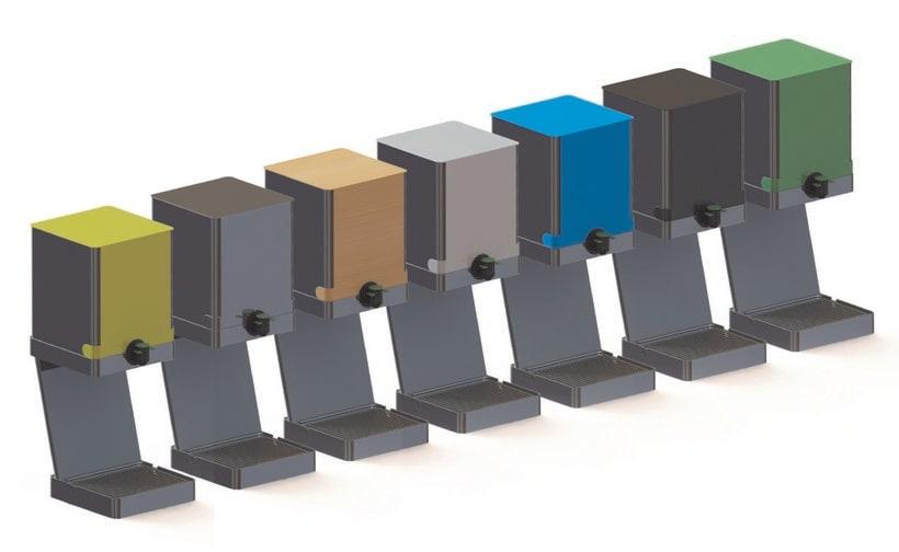 SOPORTE BAG IN BOX | Soporte para el sistema de envasado Bag in Box. 4
