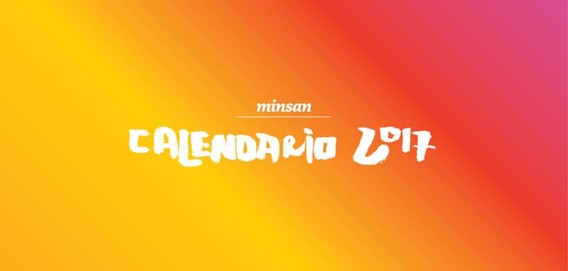 Calendario Minsan 2017 2