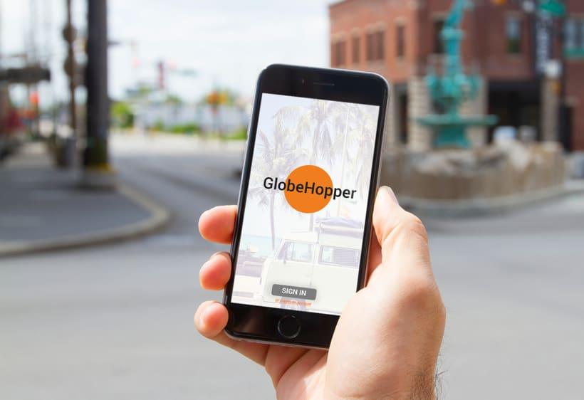 GLOVEHOPPER| Diseño conceptual de una aplicación para viajes 0