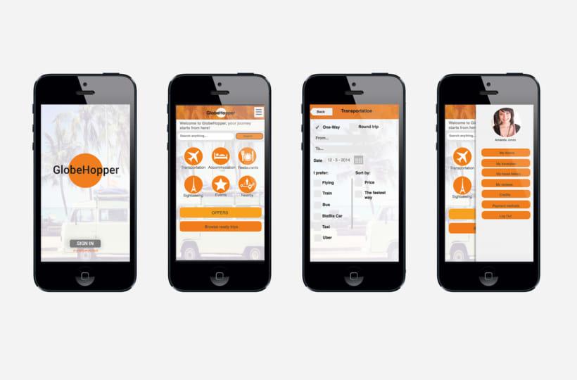 GLOVEHOPPER| Diseño conceptual de una aplicación para viajes 1