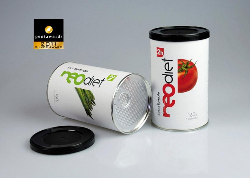 Brand & Packaging para NeoDiet 2h 0