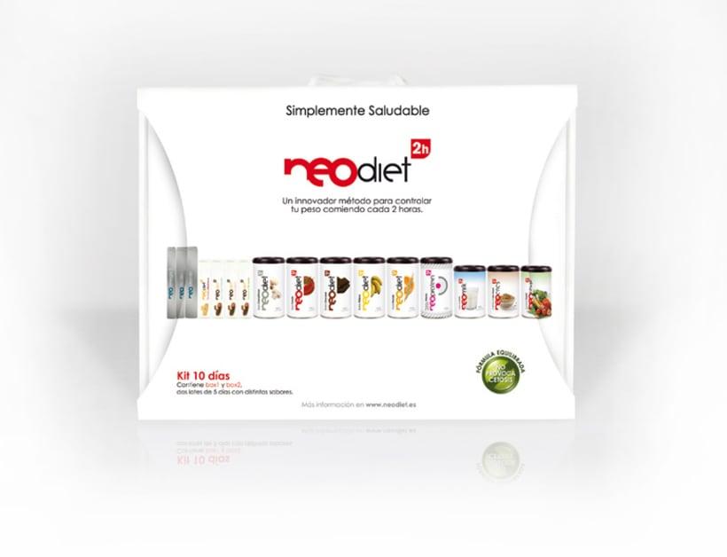 Brand & Packaging para NeoDiet 2h 1