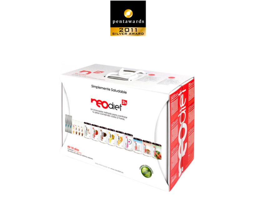 Brand & Packaging para NeoDiet 2h 2