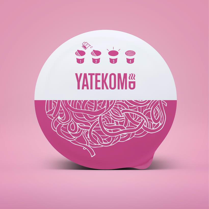 Yatekomo, rediseño de marca y empaques 1