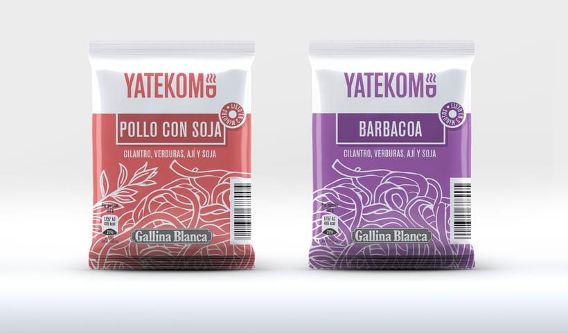Yatekomo, rediseño de marca y empaques 7