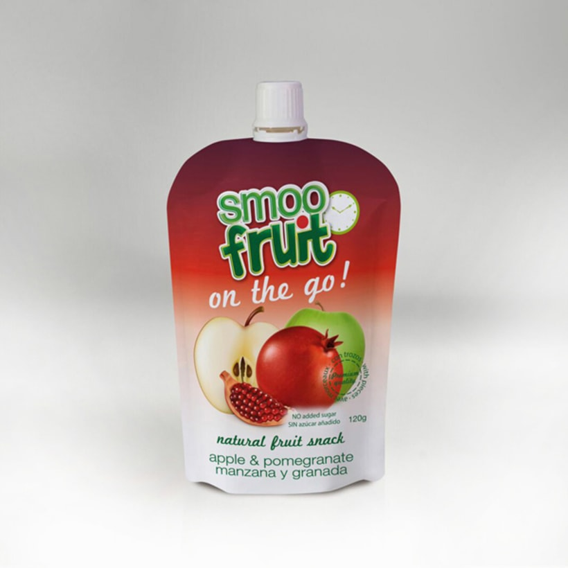 Diseño de Marca, identidad corporativa y packaging Smoofruit 3