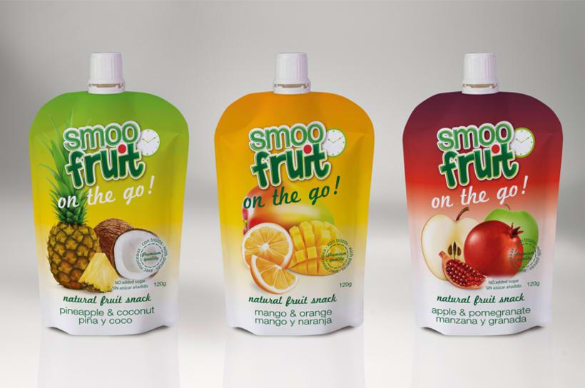 Diseño de Marca, identidad corporativa y packaging Smoofruit 4