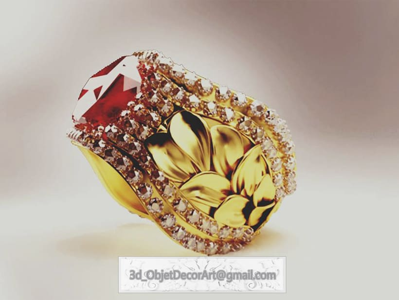 vintage  3d : jewelry , objetos de decoración, muebles estilo clásico . -1