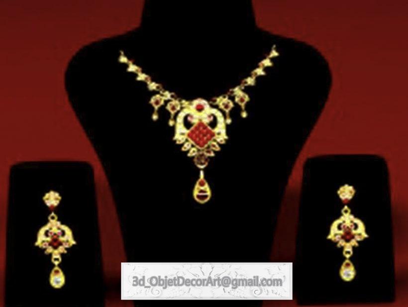 vintage  3d : jewelry , objetos de decoración, muebles estilo clásico . 2