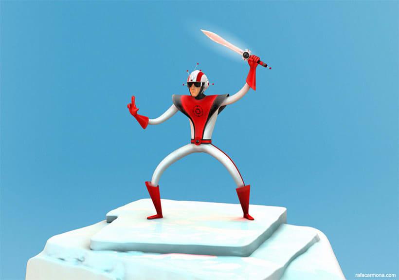 Diseñando y animando personajes 3D con Rafael Carmona 8