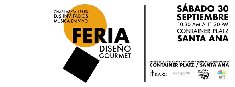 Diseño gráfico para la Feria Diseño Gourmet Septiembre 2017 3