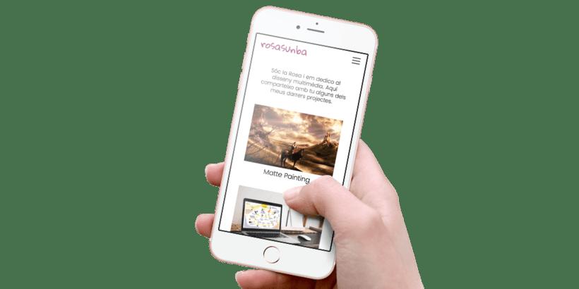 Diseño y desarrollo WordPress para Rosasunba | Jordi Garcia Codina 0