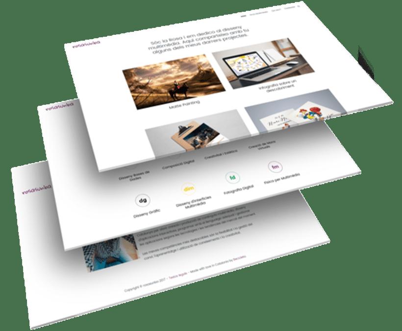 Diseño y desarrollo WordPress para Rosasunba | Jordi Garcia Codina 1
