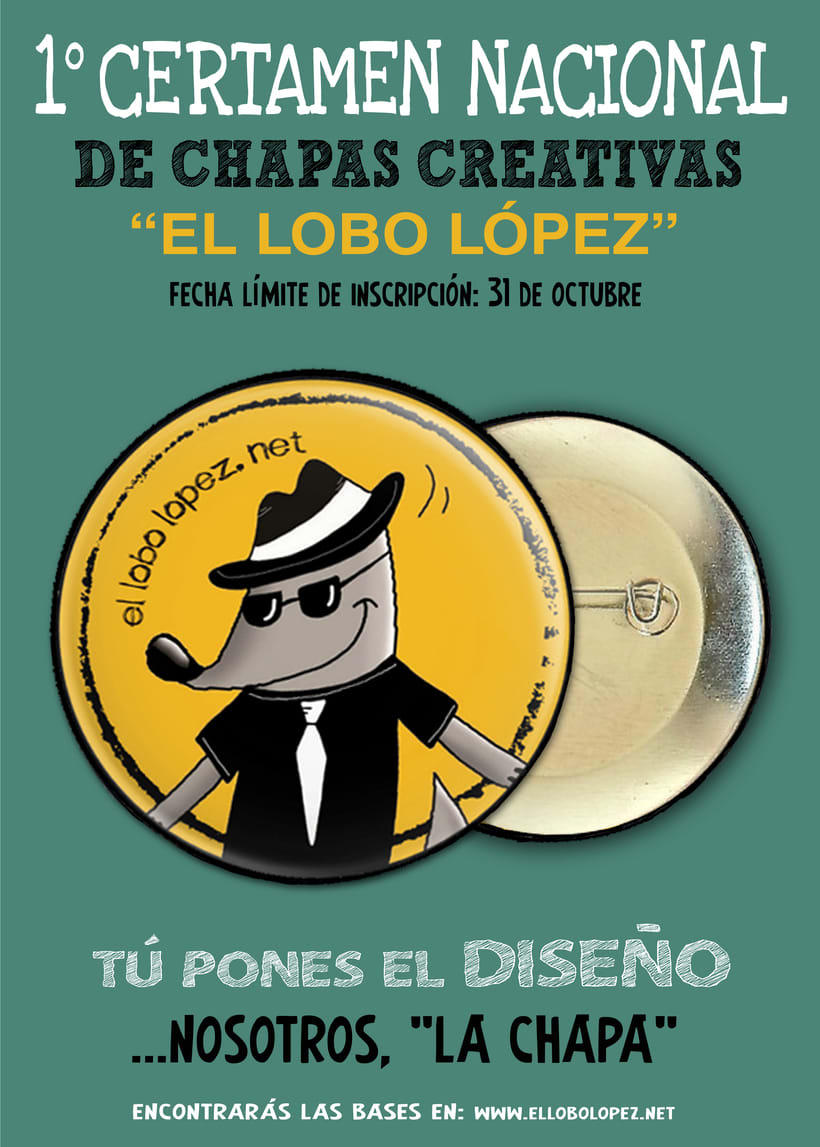 """1º Certamen Nacional de Chapas Creativas """"El Lobo López"""" 0"""