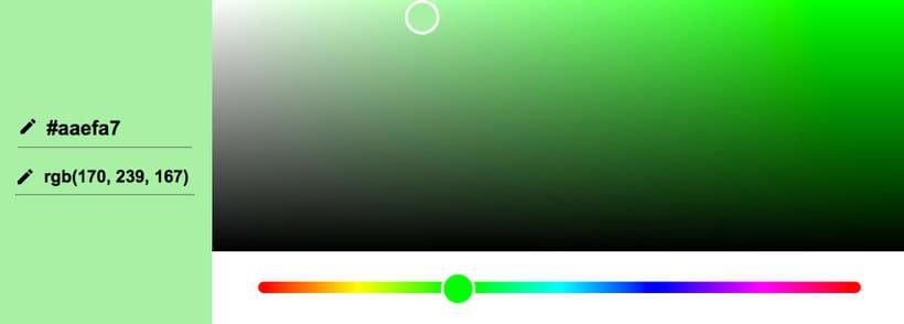 El selector de colores oculto de Google 3
