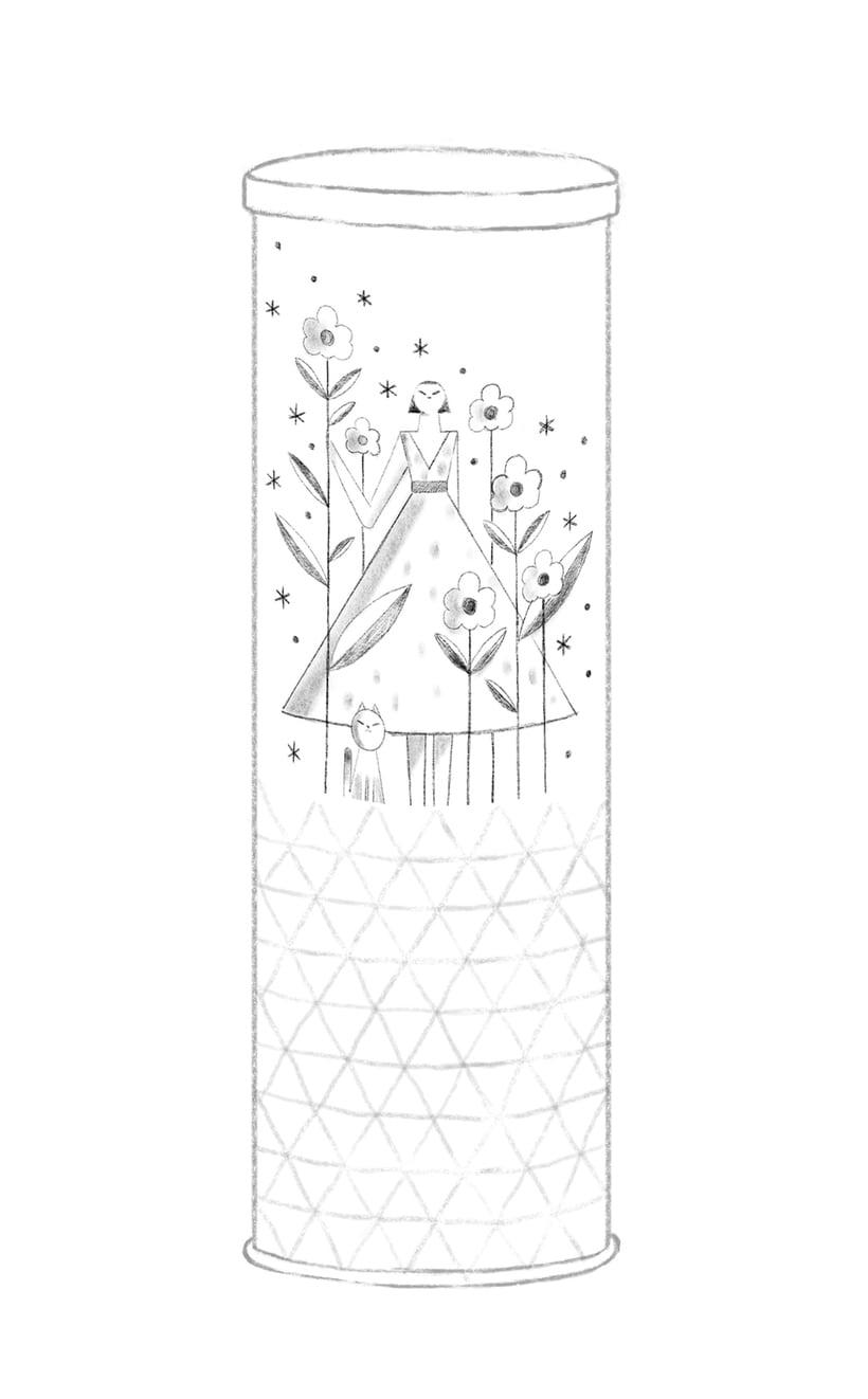Diseño de packaging para Tes - colaboración de Bestiola & Malota  4