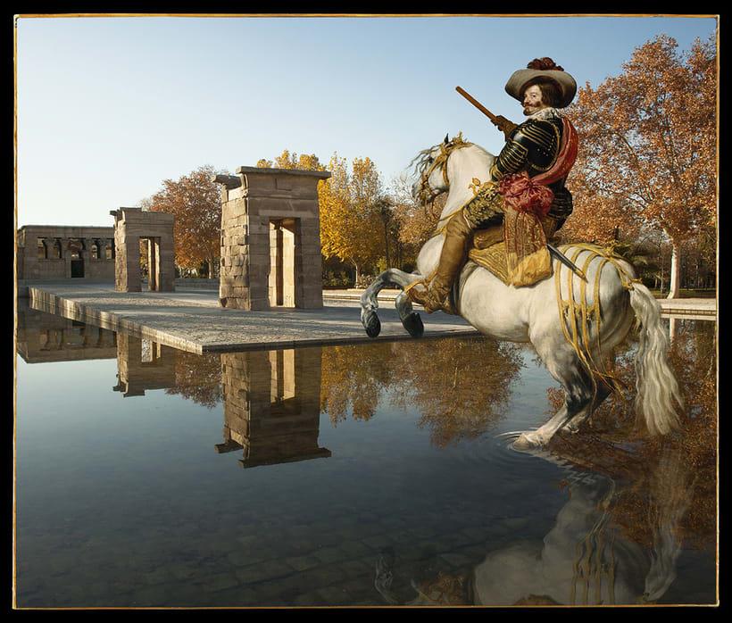 Fotomontajes: Madrid es una obra de arte 4