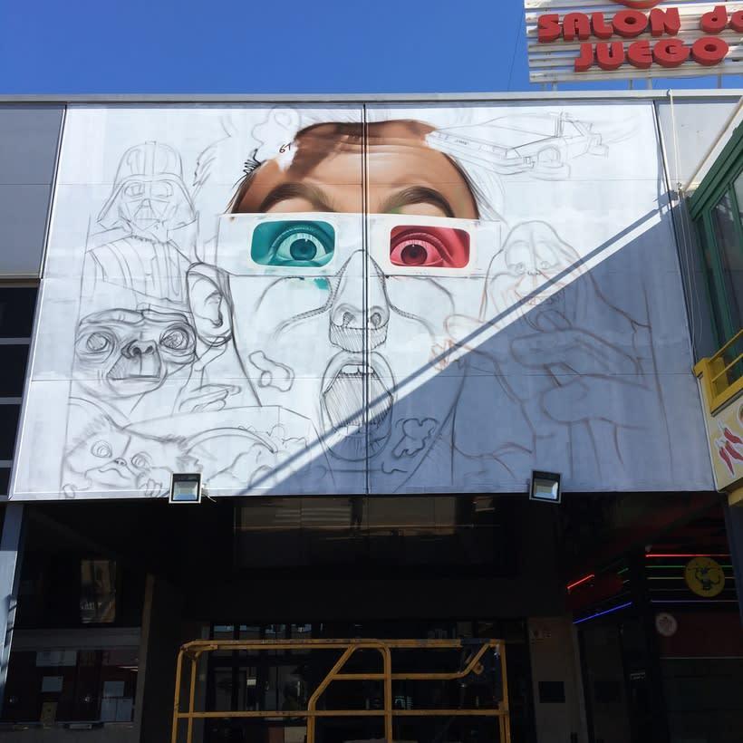 Mural Multicines París -Andujar- 3