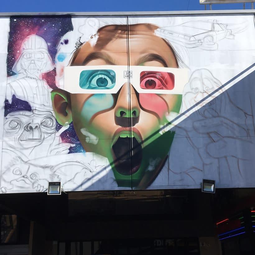 Mural Multicines París -Andujar- 4