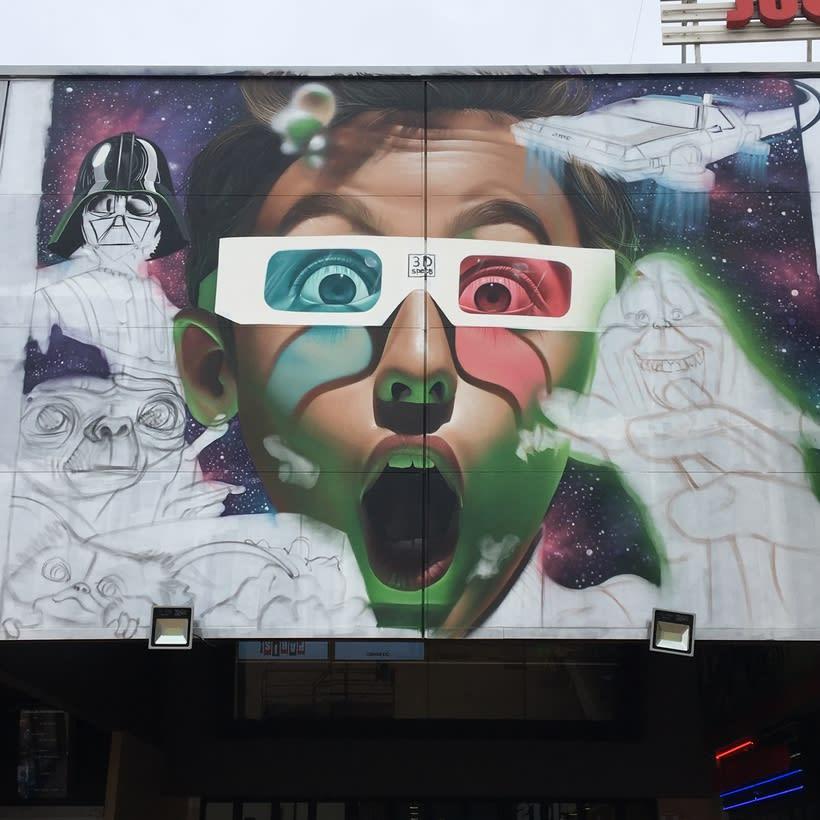 Mural Multicines París -Andujar- 5