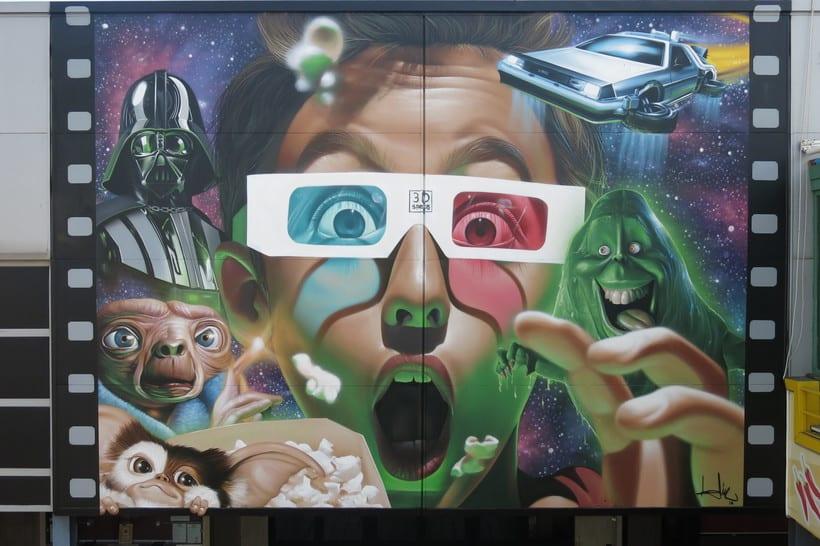 Mural Multicines París -Andujar- 13