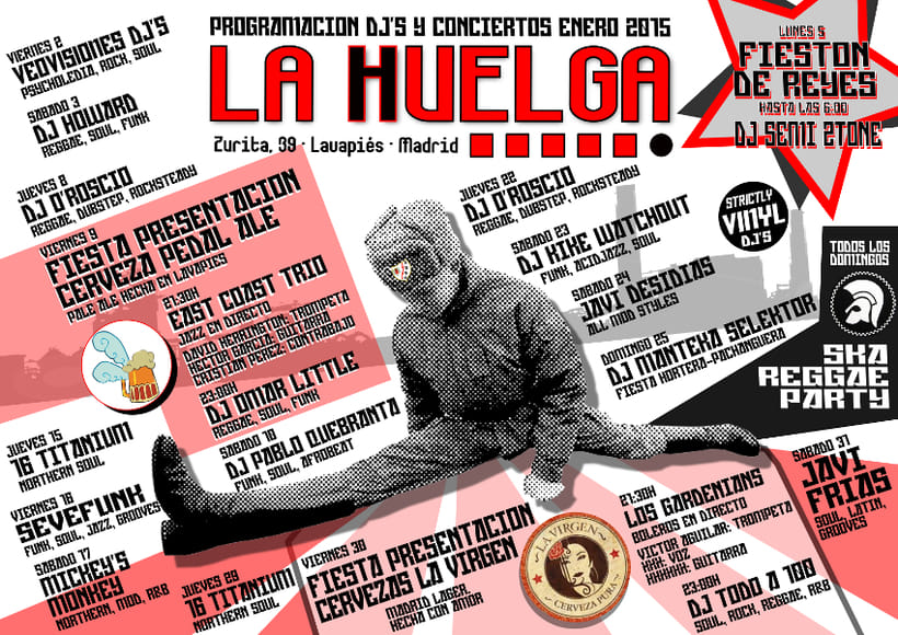 La Huelga de Lavapiés. (Selección carteles). 0