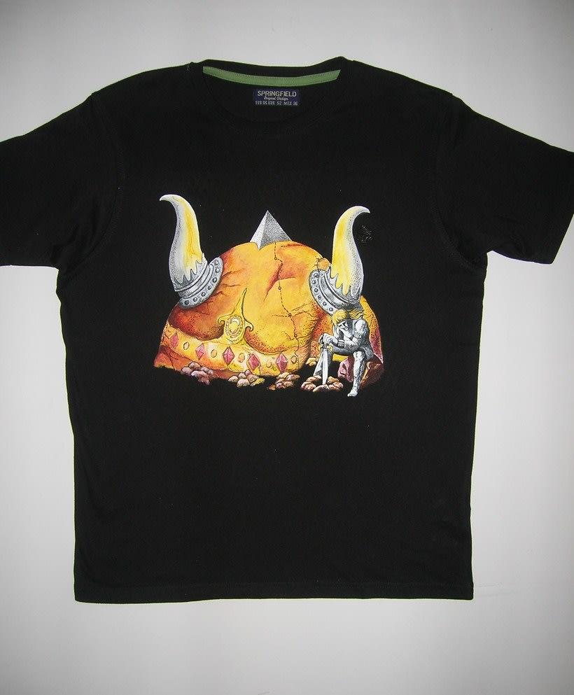 Camisetas Pintadas a mano de Mujer y de hombre 41