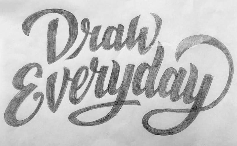 Lettering Draw Everytime 2