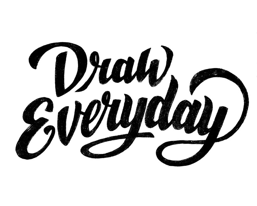 Lettering Draw Everytime 3