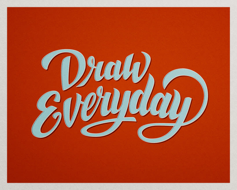 Lettering Draw Everytime 7