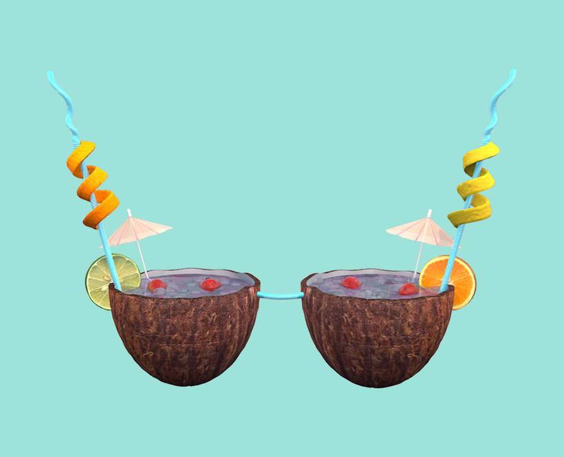 3D Bra Cocktail -1