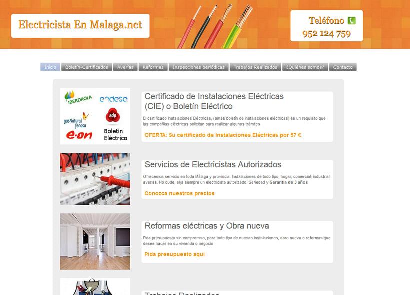 Proyecto Web Electricidad 0