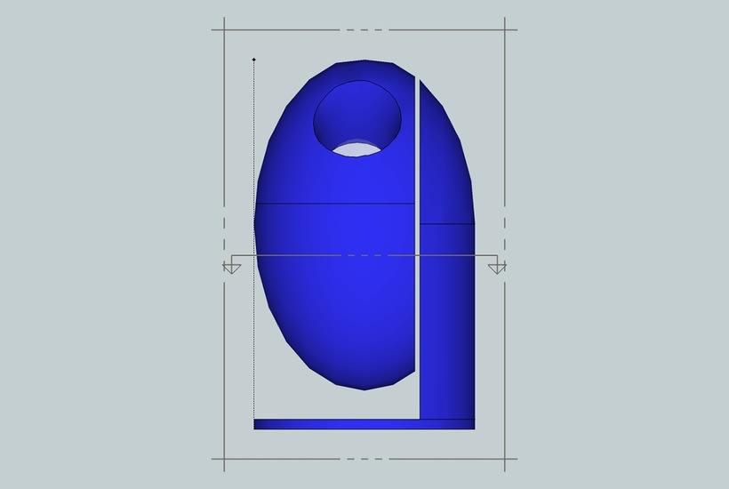 Diseño Industrial Diseño de ECO-Papelera Urbana (PROTO) 0