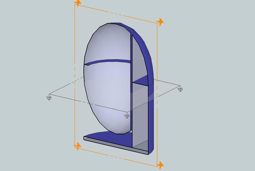Diseño Industrial Diseño de ECO-Papelera Urbana (PROTO) 1